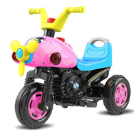 Children Motorbike Electric Three Wheel Motorcycle Kids Ride on Toy Car Baby Electric Vehicle Kids Ride on Motorbike Tricycle