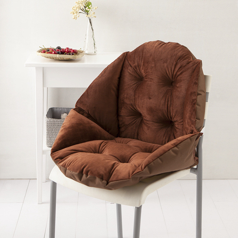 Winter seat cushion warm soft chair seat shell shape coffee back buttock sofa home office cushion housse de coussin home textile