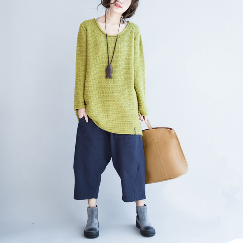 elseisle 2017 Harajuku Harem Pantolon Yaz Japon Baggy Pantolon Kadın - Bayan Giyimi - Fotoğraf 3