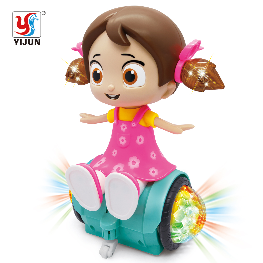 Dancing Rotating Baby Princess Doll Toy Musical Electric Dancing Queen Novelty Happy Girls Toys Dolls For Girls Toddler