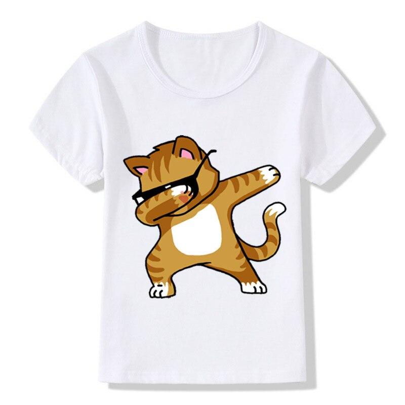 2017-Children-Dabbing-Unicorn-Cartoon-T-Shirts-Kids-Summer-Tops-Girls-Boys-Short-Sleeve-T-shirt-RabbitCat-Baby-ClothesHKP2081-4