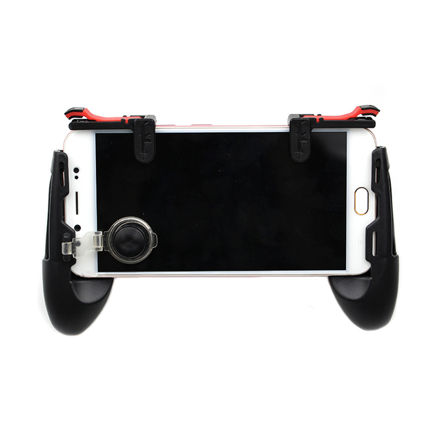 Mobile Phone Controller Gamepad Joystick Shooter Trigger Game Fire Button For IPhone 7 8 Plus X For Android For Pubg