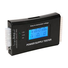 Pc LCD 20/24 Pin 4PSU ATX BTX ITX SATA HDD Poder Supply Tester Digital