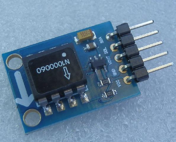 Бесплатная доставка! 1 шт. цифровой выход датчика наклона SCA60C модуль отношение угол ускорение измерения IIC автобус