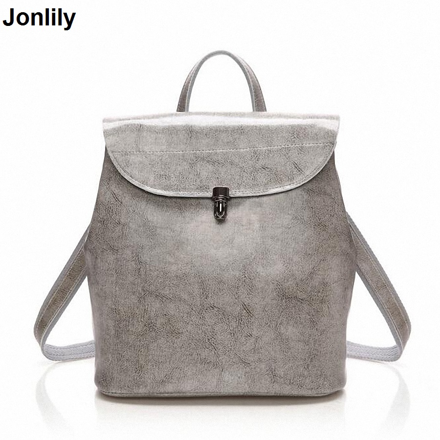 цены Fashion Genuine Leather Backpack Women Bags Preppy Style Backpack Girls School Bags Zipper Shoulder Women's Back Pack LI-1668