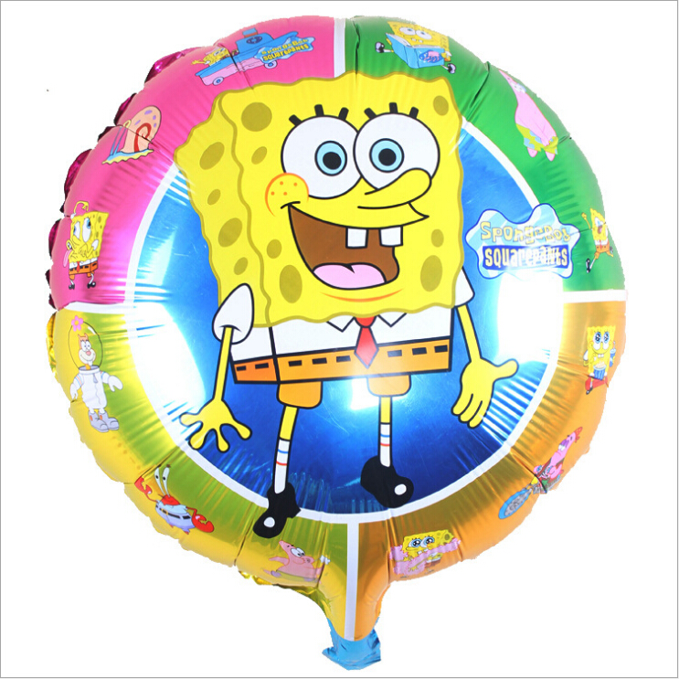 18 Inch Spongebob Squarepants Round Foil Balloon CR27
