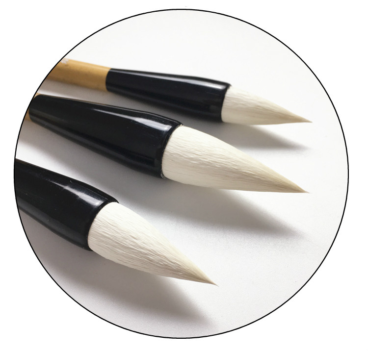 chinesa pincéis caneta conjunto regular roteiro caligrafia