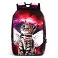 Fashion Children School bags Cute Animal Cat Schoolbag for Girls Casual Kids Women Shoulder School Book bag Mochila Escolar