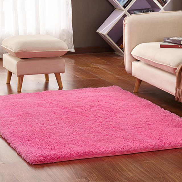 Home textile living room carpet big size mat long hair bedroom ...