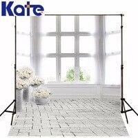 600Cm*300Cm Backgrounds Brick Floor Window Photography Backdrops Thick Cloth Photography Backdrop 3150 Lk
