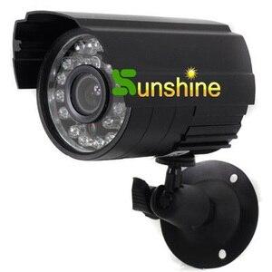 Image 2 - Metallgehäuse HD CMOS 700TVL Farbe Eingebaute Ir sperrfilter 24 LED Nachtsicht Indoor/Outdoor Wasserdichte ir kamera Analog Kamera