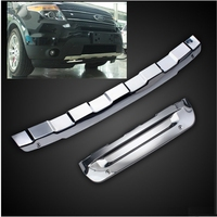 Tuning parts modified stainless steel guard plate for 2013 2015 year Ford Explorer front and rear bumper dedicated vehicle car