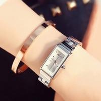 Kimio Women S Stainless Steel Wrist Watches Simple Luxury Brand Quartz Watch Waterproof Ladies Dress Watch