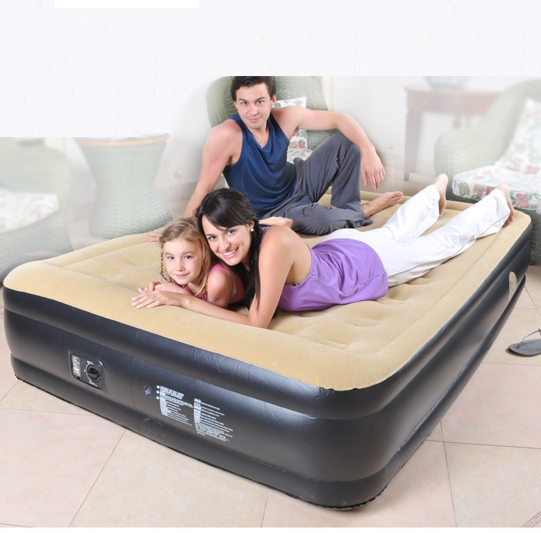 203*157*47CM New flocking waterproof luxury inflatable home bed safe durable dirt easy to clean, CAR convenient air sofa beds203*157*47CM New flocking waterproof luxury inflatable home bed safe durable dirt easy to clean, CAR convenient air sofa beds