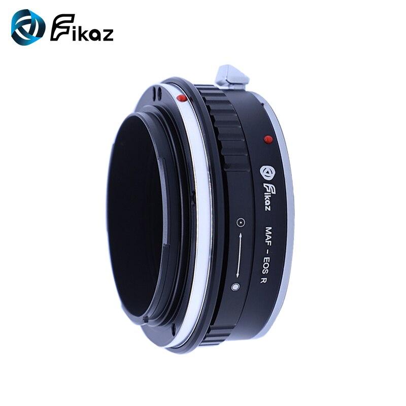 Fikaz pour Minolta (AF)-bague d'adaptation pour monture d'objectif EOS R pour objectif Minolta AF vers caméra de montage Canon EOS R - 5
