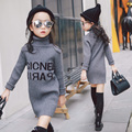 Girls Sweater Kids Clothes 2017 Spring Winter Children Clothing Knitted Pullovers Fashion Baby Girl Clothes Age 3-15Y