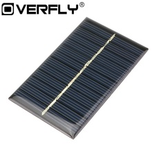 Overfly Solar Power Panel Mini 6V 110Ma  Solar System DIY For Battery Cell Phone Chargers Portable Solar Panel 12V Solar Cell