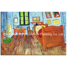 Skills Artist Handmade High Quality Famous Vincent Van Gogh Oil Paintings On Canvas Reproduction Starry Night Oil Painting