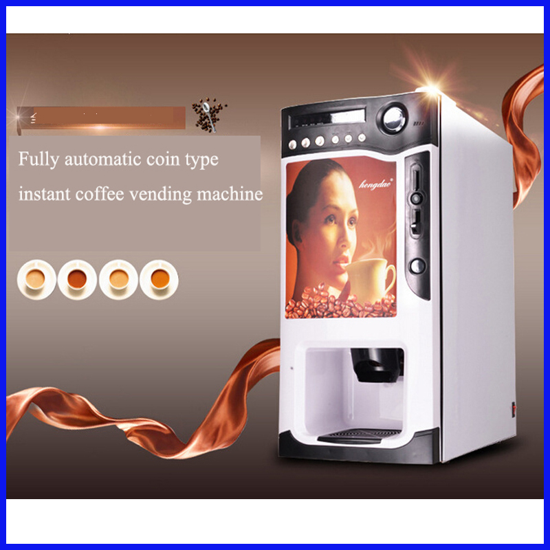 US $790 0 |Fully automatic coin operated Italy instant nescafe coffee  vending machine juice milk tea making machine with reasonableprice-in Food