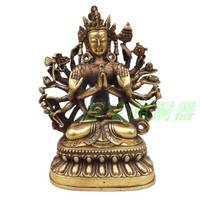 Copper buddha decoration home accessories technology gift