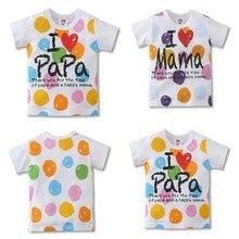 Baby Boy Tops Girls Short Sleeve T Shirts 2019 Summer Cartoon Kids Streetwear Cotton Pattern T-shirt Toddler Girl Tops Shirt стоимость
