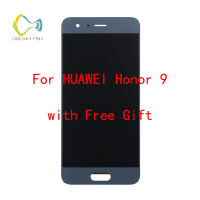 DREAM FISH For Huawei Honor 9 LCD Display Touch Screen Assembly Replacement Parts With Frame For Huawei Honor 9 celular