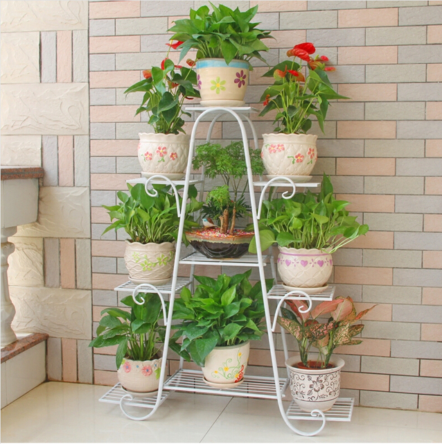 120cm Big Size European Balcony Indoor Flower Pot Holder Garden