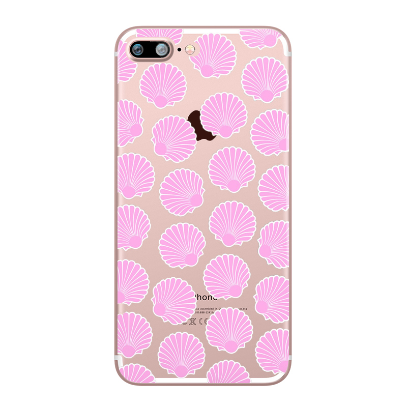 Flower Love Cherry Blossoms Rose Flowers for iphone 7 6 X 6S 8 PLUS SE 5S 7plus Silicon Clear TPU Transparent Capinha Case Funda (5)