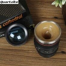 Neue edelstahlblase Elektrische Rühren Kaffee Tee Tasse Objektiv Kamera Faul Selbst Automatische Rühren Becher Meine Flasche