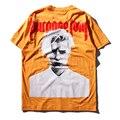 De alta calidad de 100% algodón para hombres t shirt propósito gira justin bieber hip hop tide marca de verano de manga corta t-shirt