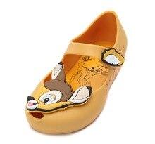 Melissa Shoes 2019 New Original Bambi Lovely Girls Jelly Sandals Non-slip Kids Toddler