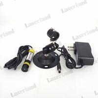 16*68mm 780nm 100 mw IR Infrarood DOT LIJN CROSS Focusable Laser Module Glas Lens + Adapter + mount