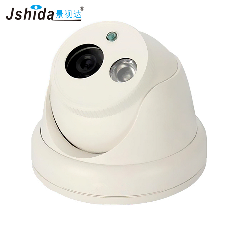 Jshida 2MP Dome Security IP Camera 1080P Vandal-proof 25m IR Night Vision ONVIF P2P Full HD CMOS Hi3516C Network CCTV Camera seven promise hd 1080p indoor poe dome ip camera vandal proof onvif infrared cctv surveillance security cmos night vision webcam