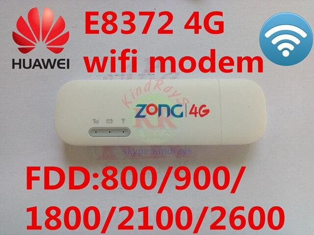 Unlocked Huawei E8372h-153 4g 150Mbps Modem E8372 lte 4G Wifi router 4G LTE mifi Modem PK E8278 e3372 e3276 e392 e3131 e5372 ...