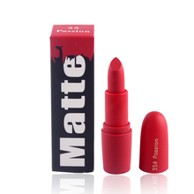 2018 New Lipsticks For Women Sexy Brand Lips Color Cosmetics Waterproof Long Lasting Miss Rose Nude Lipstick Matte Makeup