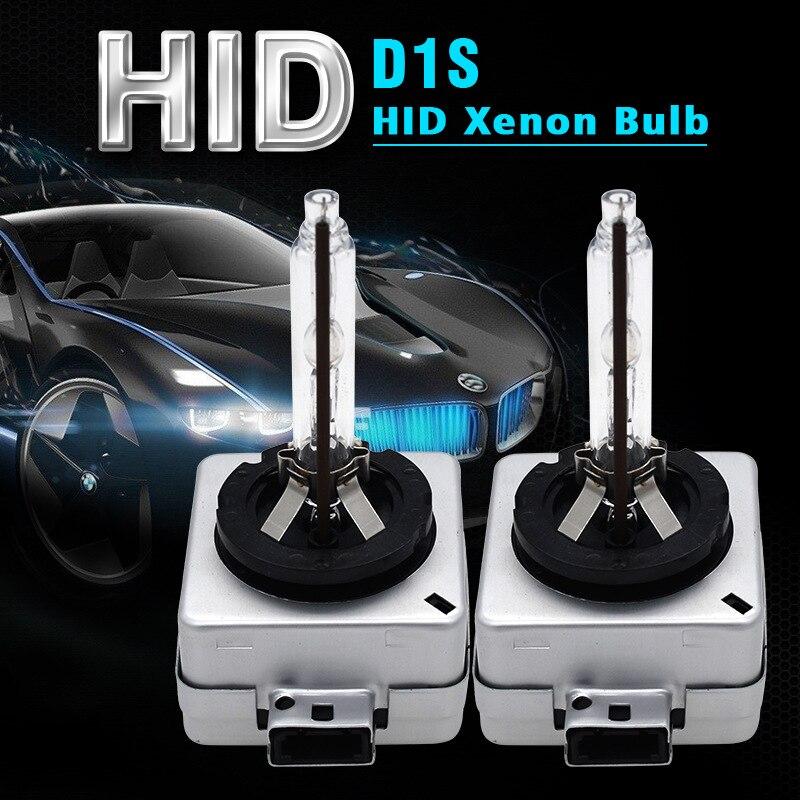 Ксеноновые лампы D1S HID 2 шт., d1s ксеноновые лампы 12 в 35 вт D1S лампы hid 4300K 5000K 6000K 8000K 10000K 12000K D1S, фары