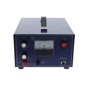 Image 3 - DX 50A high power laser spot welder pulse spot welding touch welder welding machine with jewelry equipment
