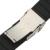 24mm Correa De Caucho de Silicona Venda de Reloj de la Correa Universal de Liberación Rápida Pulsera con Hebilla de Seguridad de Acero Inoxidable Negro