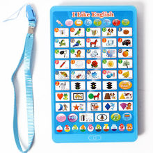 I Like English learning table computer toy Pad,English language Learning Letters,Words,Colors Educational toys for children