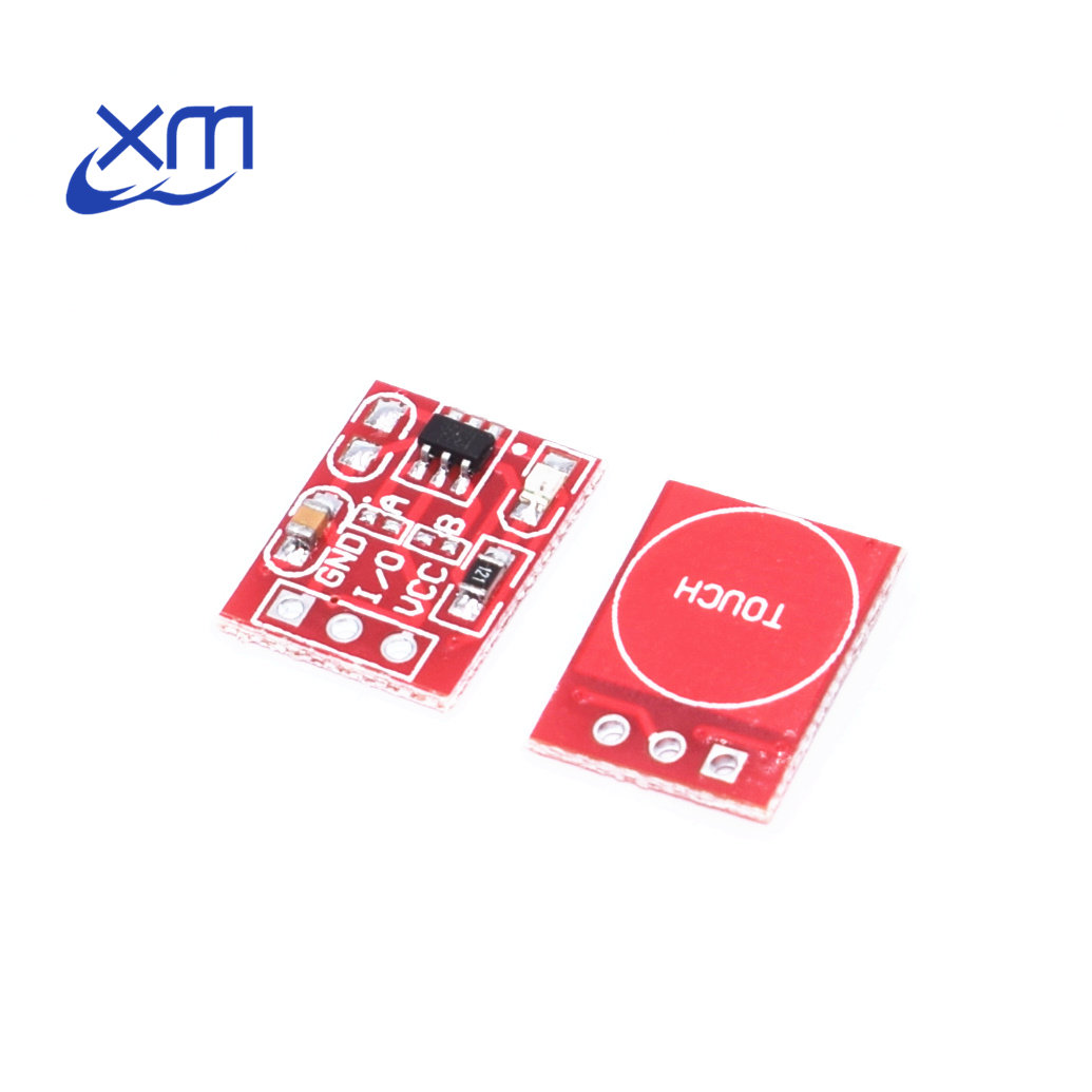 5pcs NEW TTP223 Touch Button Module Capacitor Type Single Channel Self Locking Touch Switch Sensor