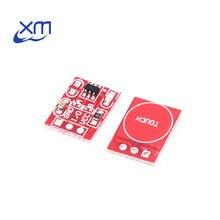 5 шт. TTP223 сенсорная кнопка модуль Конденсатор Тип одноканальный самоблокирующийся сенсорный переключатель сенсор