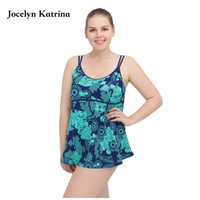 2017 Women Swimwear Two piece Suits Tankini Swimsuit Female Bather Beach Bathing Suit Bodysuit Large Big Plus size Shorts