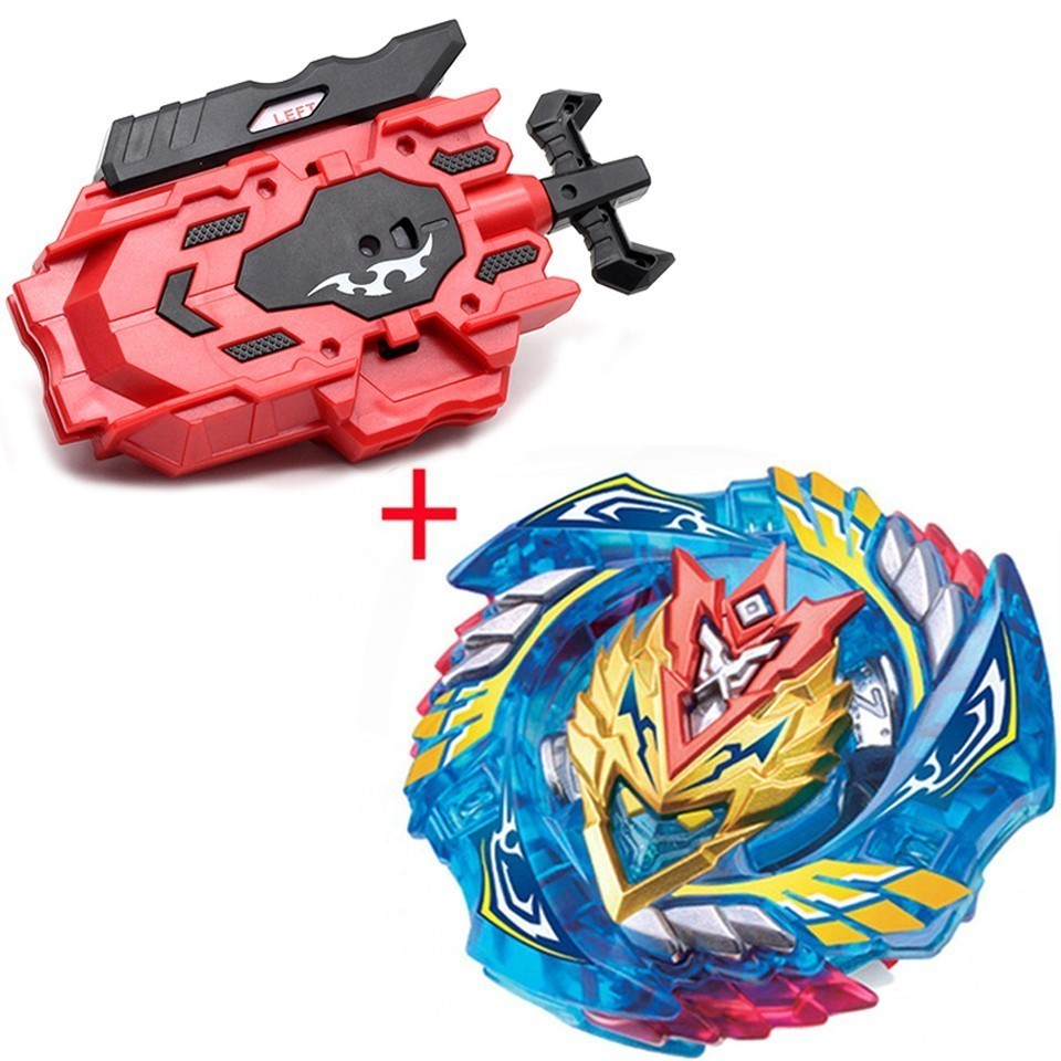 Beyblade Burst B-127 Cho-z Valkyrie.z.ev With Left Right Two Way Wire Launcher Metal Booster Top Starter Gyro Spinning Fight Toy
