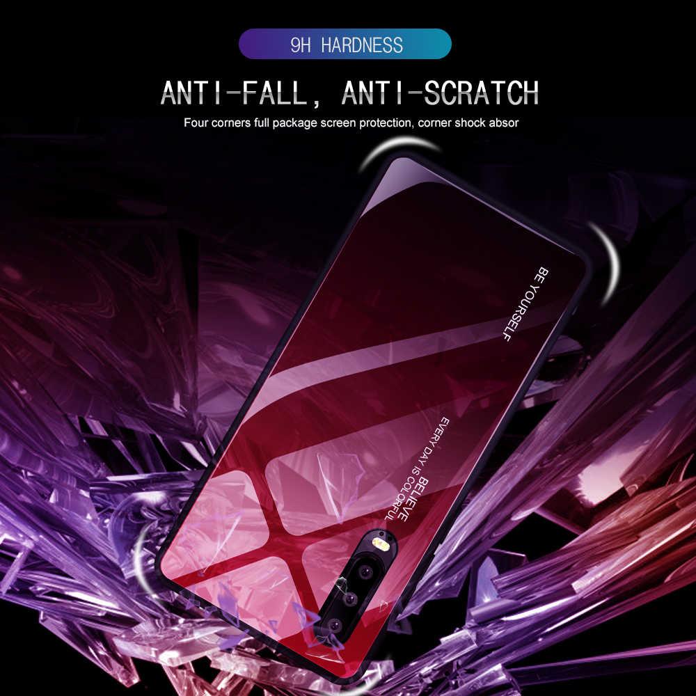 Kính cường lực Dành Cho Huawei P20 Lite P30 Giao Phối 10 Pro Giao Phối 20 Lite P Thông Minh Tôn Vinh 10 9 Cao Cấp cực quang Nhiều Màu Sắc Điện Thoại Bao