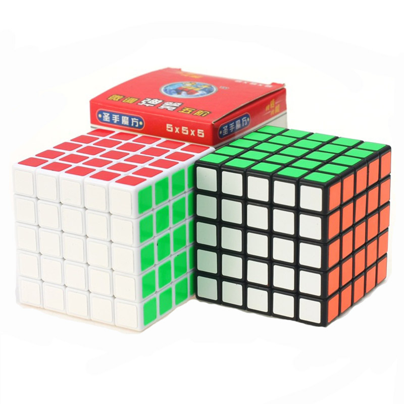 Neo Cube 5x5x5 Cubo Magico shengshou Magic Cube 5x5 Stickerless Qizhengs cubic anti-stress 5 By 5 Toys For Children