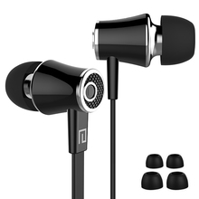 Original Langsdom JM21 Earphones Stereo Super Bass Headphones Sport Running Headset Candy Color Earbuds Handsfree With Mic