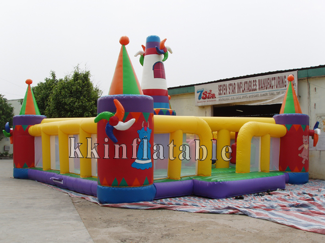 Inflatable big font b bouncer b font Fun Park Kid Amusement Inflatable Fun City