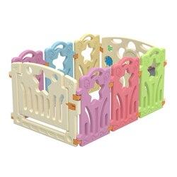 Corrales para bebés juegos de interior al aire libre actividad para niños valla de juegos para niños equipo de actividad protección del medio ambiente EP patio de juegos de seguridad