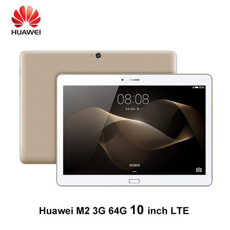 Huawei Mediapad M2 10.1 Inch 3G Ram 64G/16G Rom LTE 6600mAh IPS Kirin 930 2.0GHz Octa Core 13MP Huawei M2 IPS 1920X1200