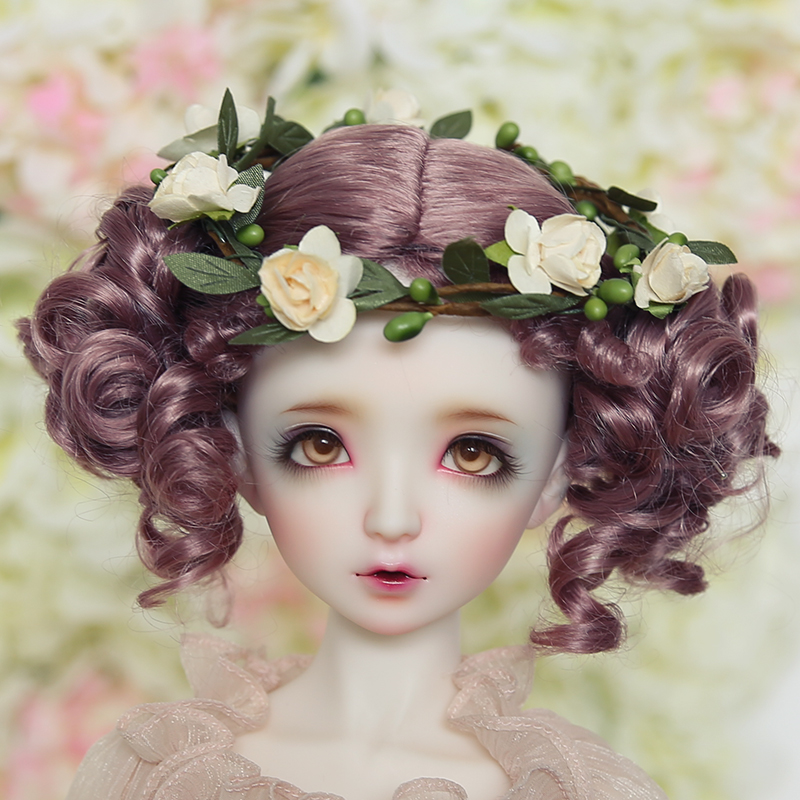 1 3 1 4 1 6 1 8 BJD wigs Synthetic mohair SD dolls sd16 sd10 sd13 yosd msd bambi in Dolls Accessories from Toys Hobbies